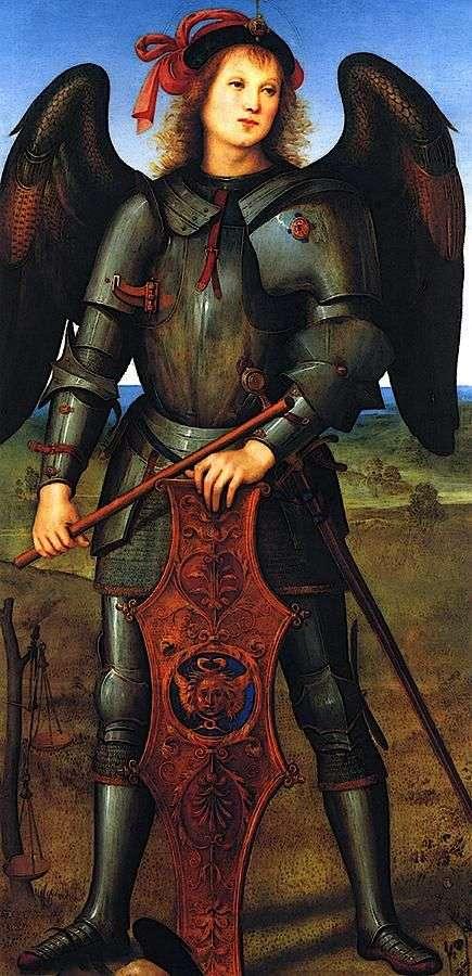 Archanioł Michał   Pietro di Cristoforo Vanucci Perugino