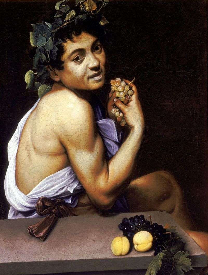 Chory Bachus   Michelangelo Merisi da Caravaggio
