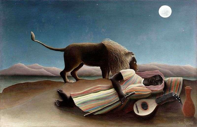 Cygański sen   Henri Rousseau