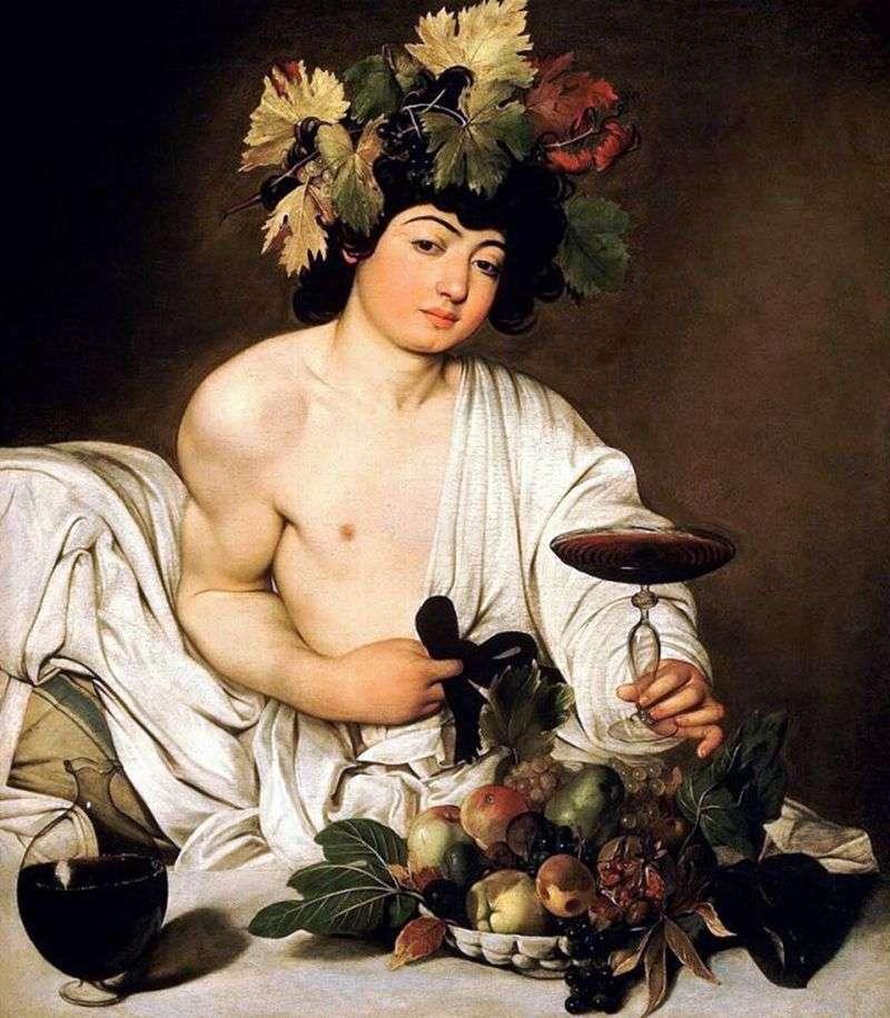 Bacchus   Michelangelo Merisi da Caravaggio