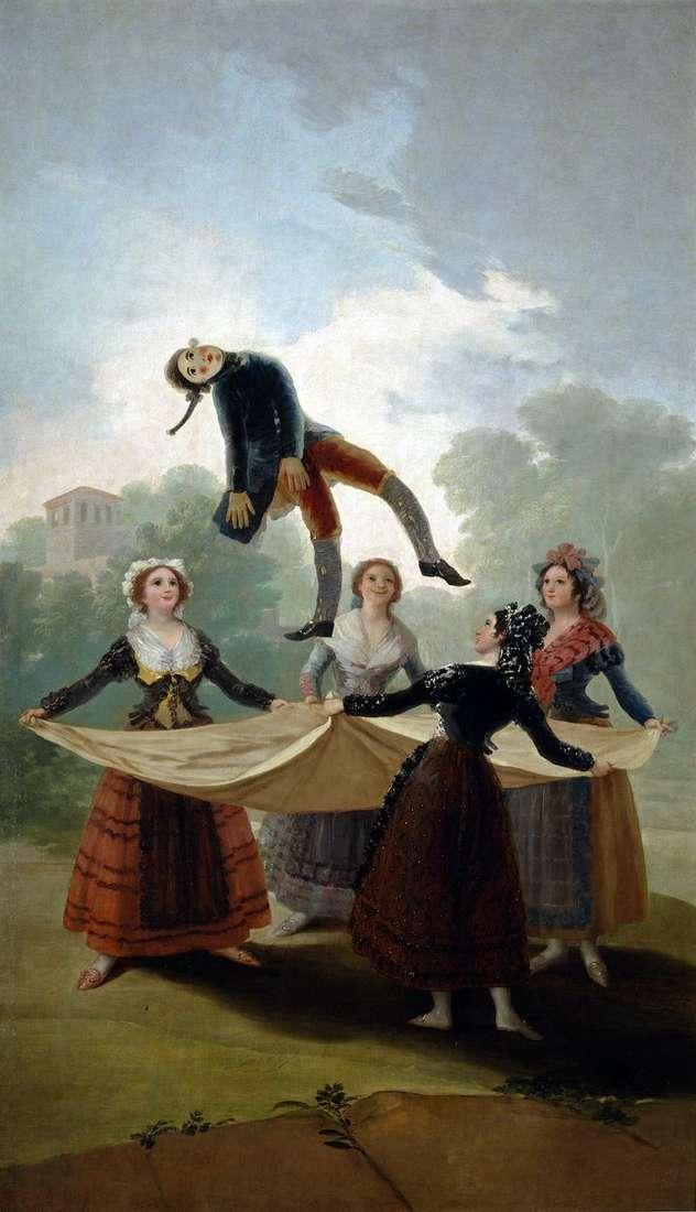 Straw Doll   Francisco de Goya