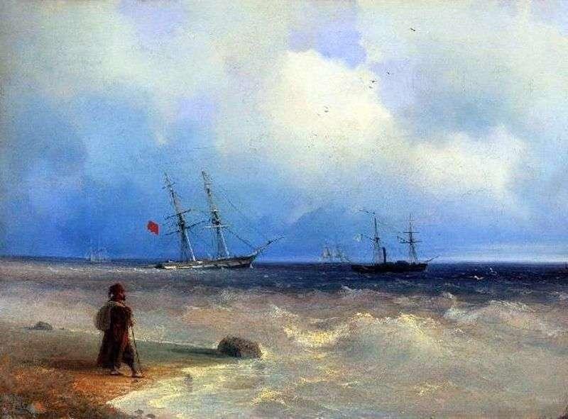 Seashore   Ivan Aivazovsky