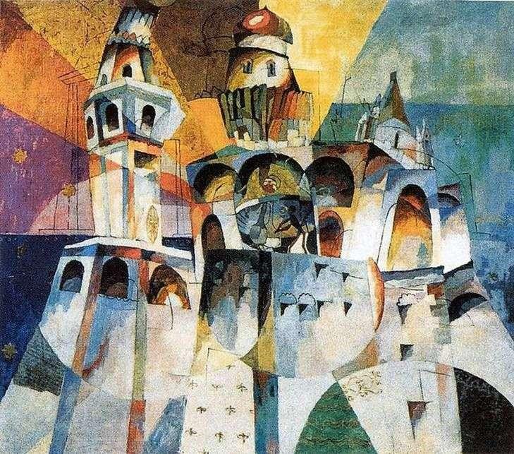 Dzwonnica Iwana Wielkiego   Aristarkh Lentulov