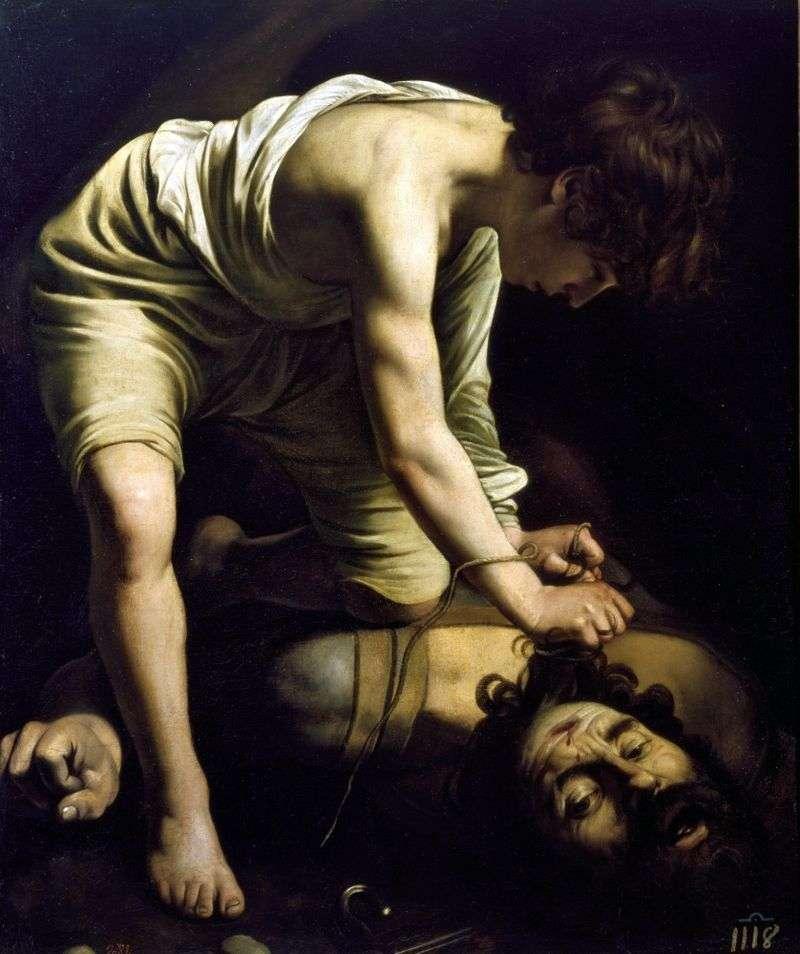 David i Goliath   Michelangelo Merisi da Caravaggio