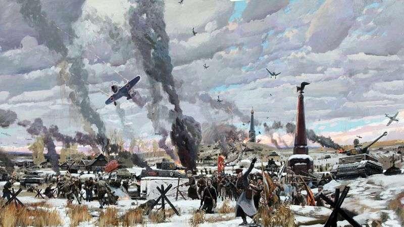 Bitwa o Moskwę   Pavel Ryzhenko