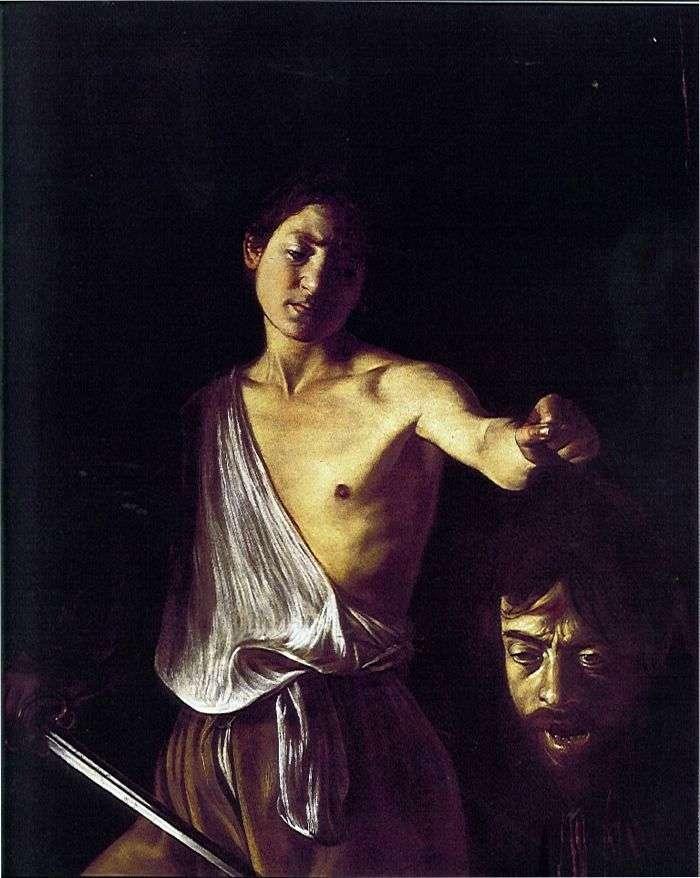 Dawid z głową Goliata   Michelangelo Merisi da Caravaggio