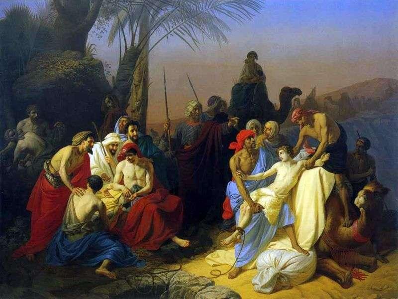 Dzieci Jacoba sprzedają swego brata Józefa   Konstantina Flavitskyego