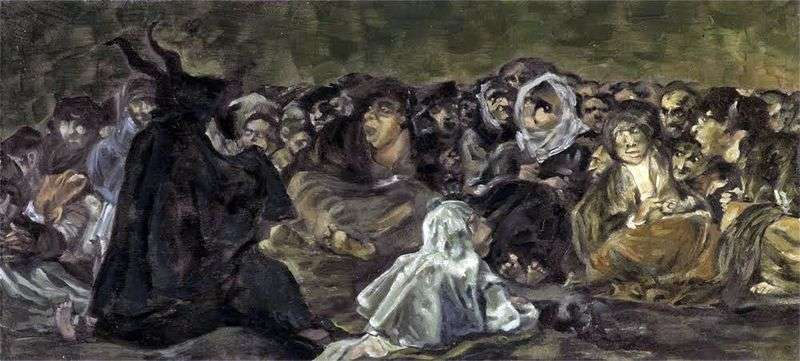 Sabat czarownic   Francisco de Goya
