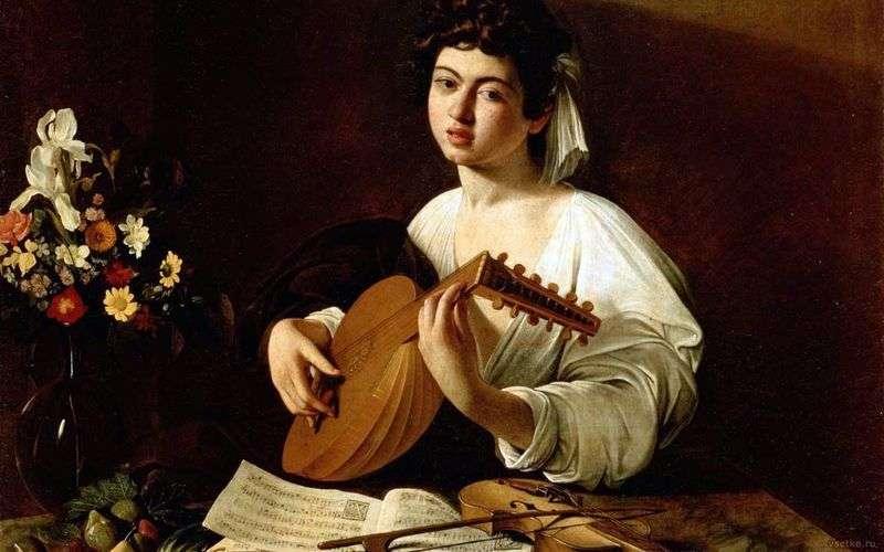 Dziewczyna z lutnią   Michelangelo Merisi da Caravaggio