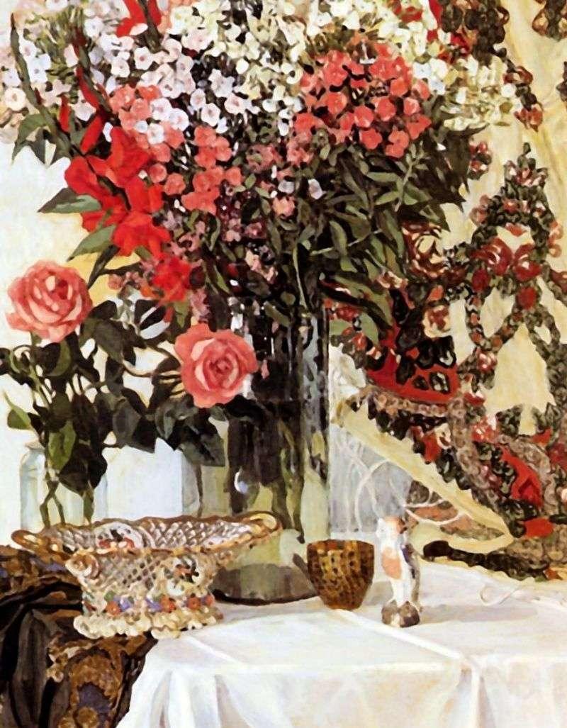 Martwa natura Kwiaty w wazonie   Alexander Golovin