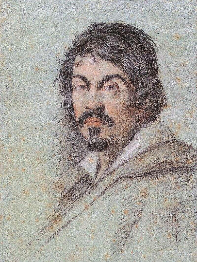 Portret Caravaggia   Ottavio Leoni