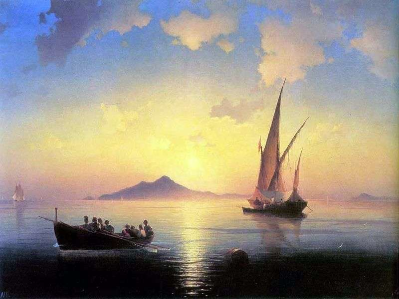 Gulf of Naples   Ivan Aivazovsky