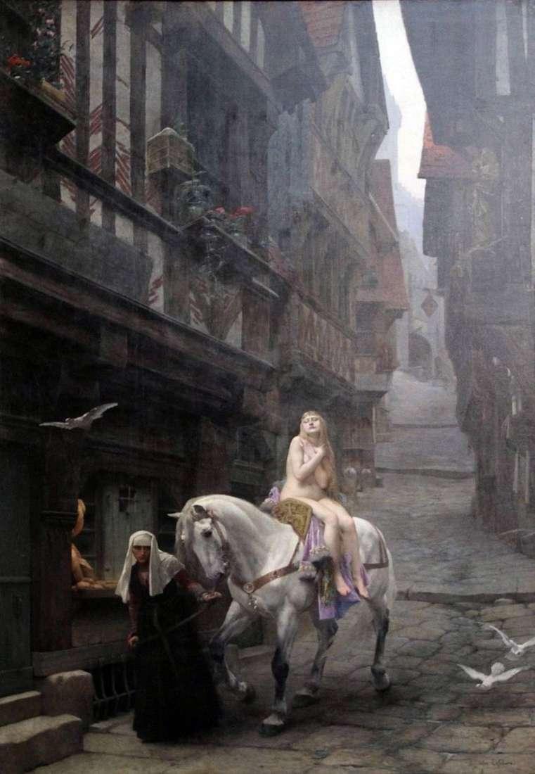 Lady Godiva   Jules Joseph Lefevre
