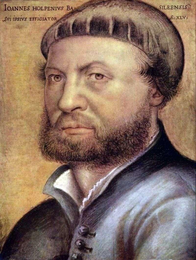 Autoportret   Hans Holbein