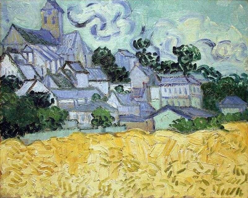 Widok Auvers i Kościoła   Vincent Van Gogh