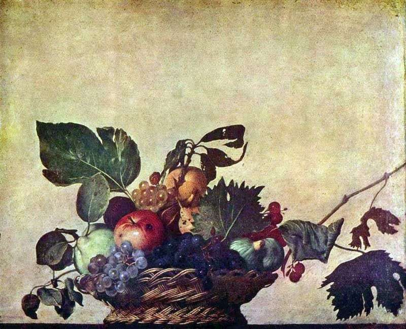 Kosz z owocami   Michelangelo Merisi da Caravaggio