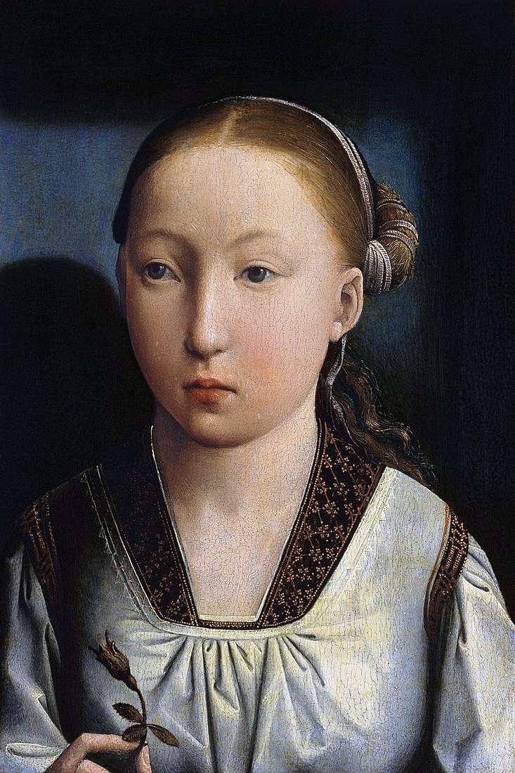 Portret dziewczynki   Juan de Flandes