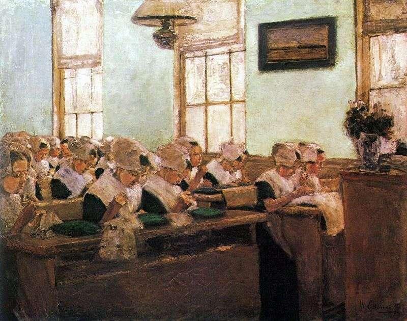 Holenderska szkoła szycia   Max Lieberman
