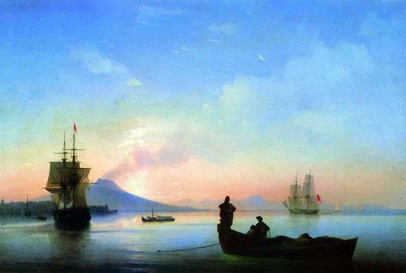 Zatoka Neapolitańska w godzinach porannych   Ivan Aivazovsky
