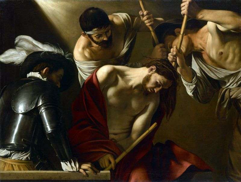 Korona z koroną cierniową   Michelangelo Merisi da Caravaggio