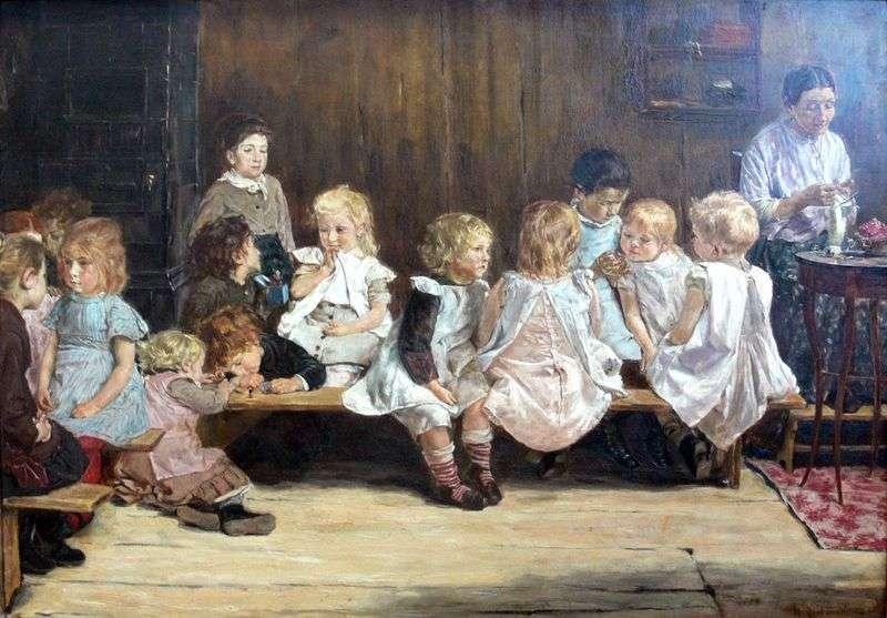Przedszkole w Amsterdamie   Max Lieberman