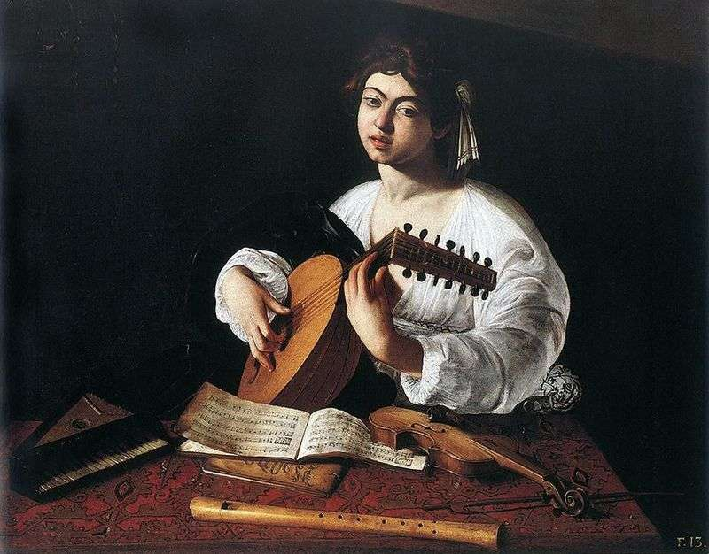Lutnist   Michelangelo Merisi da Caravaggio