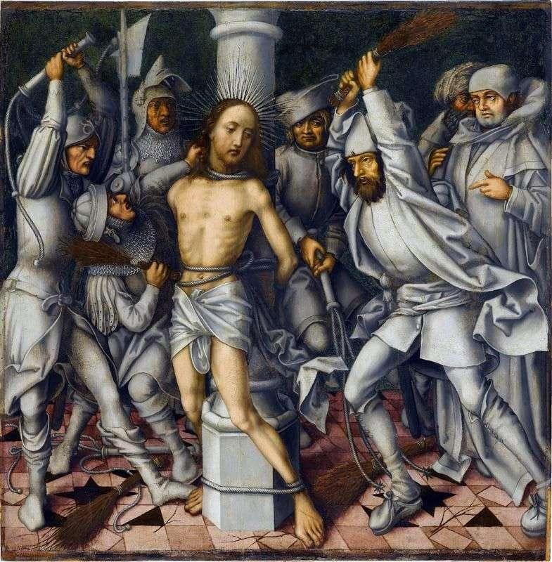 Biczowanie Chrystusa   Hans Holbein