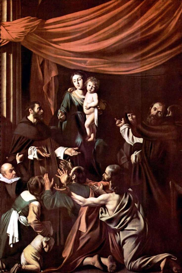 Madonna del Rosario   Michelangelo Merisi da Caravaggio