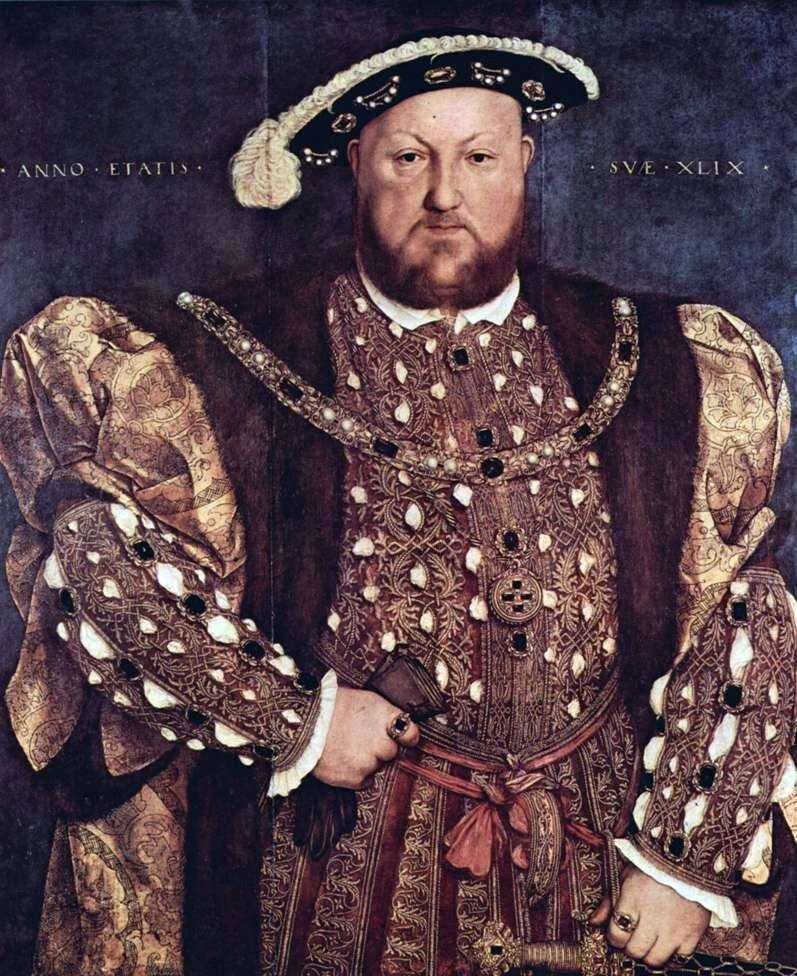 Portret króla Henryka VIII   Hansa Holbeina