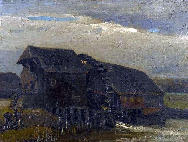 Młyn wodny w Opverten   Vincent Van Gogh