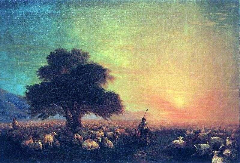 Stado owiec   Iwan Ajwazowski