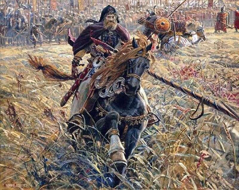 Zwycięstwo Peresvet   Pavel Ryzhenko