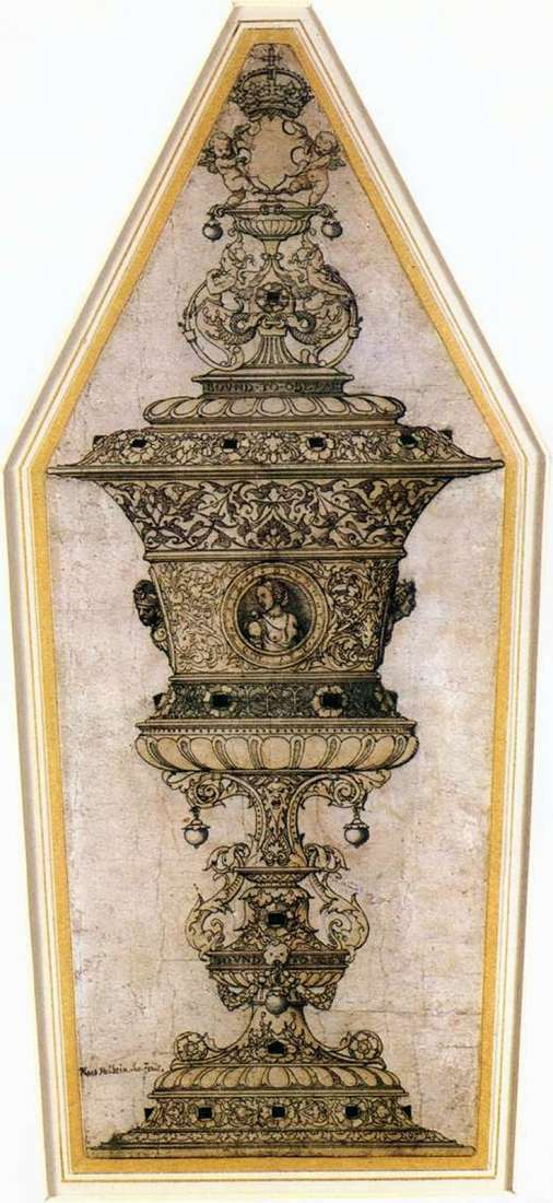 Jane Seymour Cup   Hans Holbein