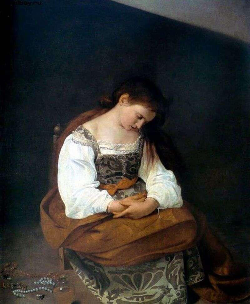 Maria Magdalena   Michelangelo Merisi da Caravaggio