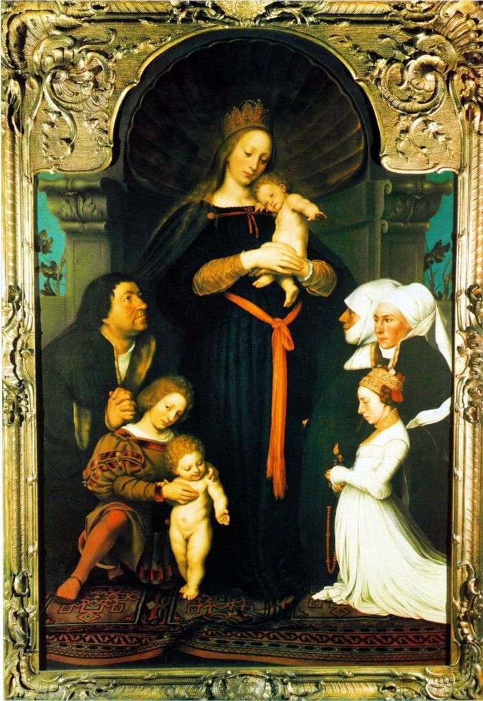 Madonna Mayor Meyer   Hans Holbein