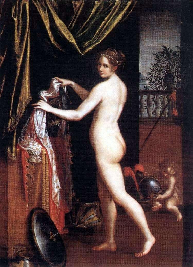 Dressing Minerva   Lavinia Fontana