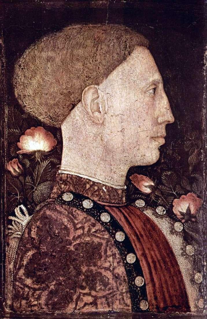 Portret Leonello dEste   Antonio Pisanello