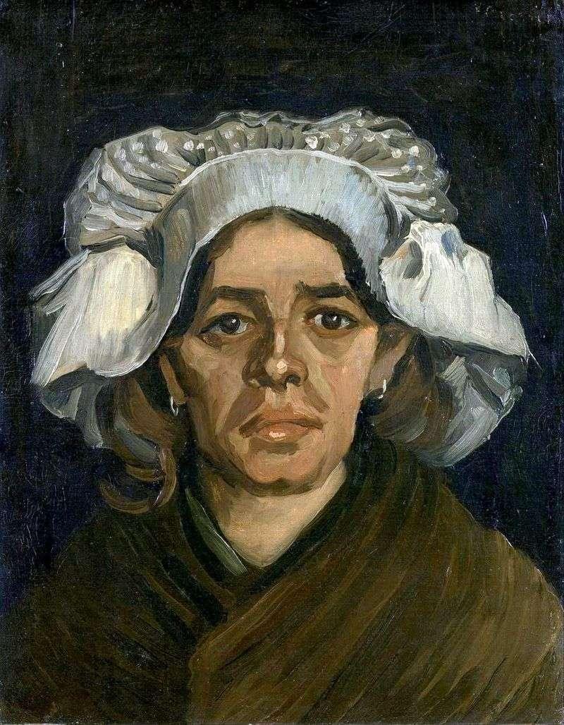 Gordina de Groot, portret   Vincent Van Gogh