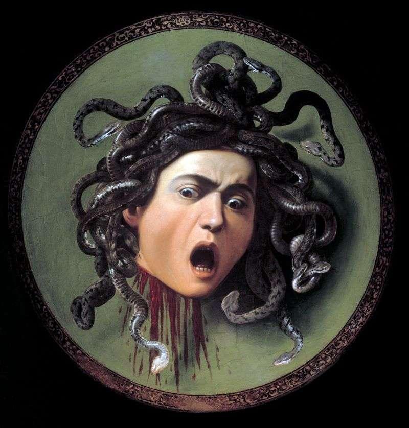 Medusa Gorgona   Michelangelo Merisi da Caravaggio