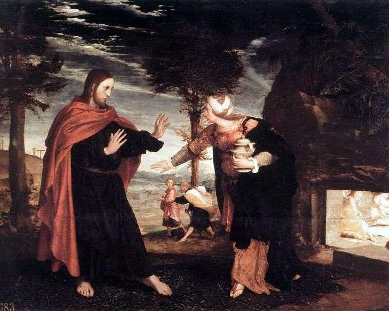 Nie dotykaj mnie!   Hans Holbein