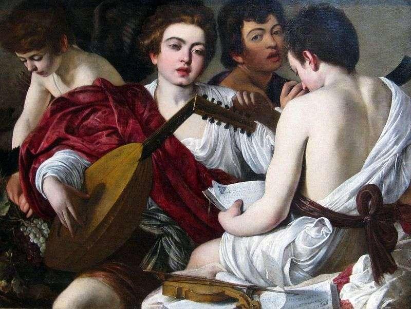 Muzycy   Michelangelo Merisi da Caravaggio