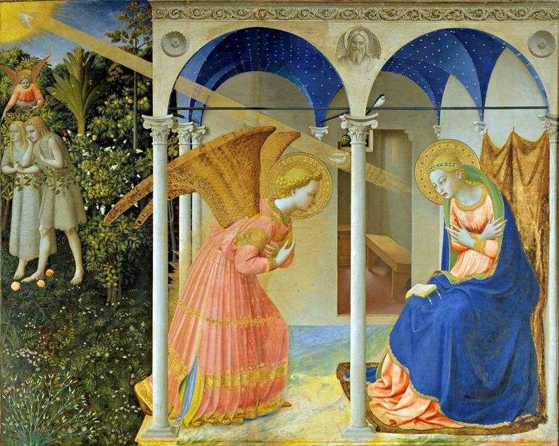 Zwiastowanie   Angelico Fra