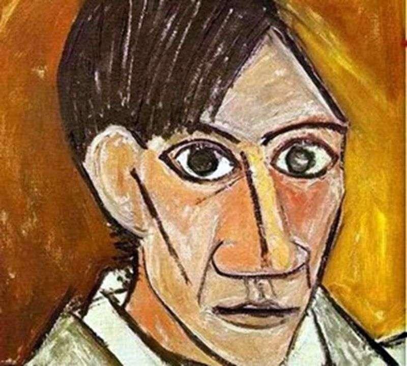 Autoportret   Pablo Picasso