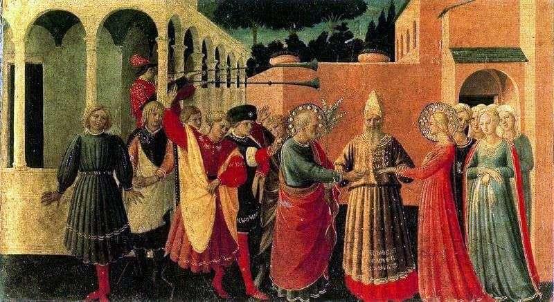 Ślub Marii Panny   Angelico Fra