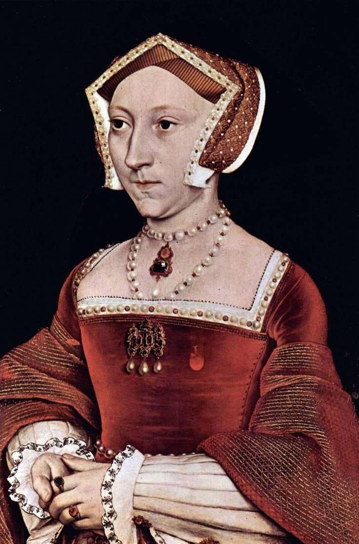 Portret angielskiej królowej Jane Seymour   Hans Holbein