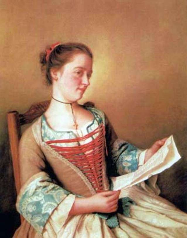 Mademoiselle Lavergne, siostrzenica artysty   Jean Étienne Lyotard