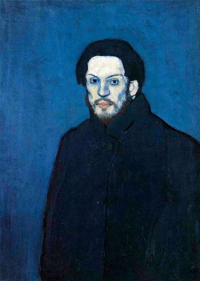 Autoportret w niebieskim okresie   Pablo Picasso