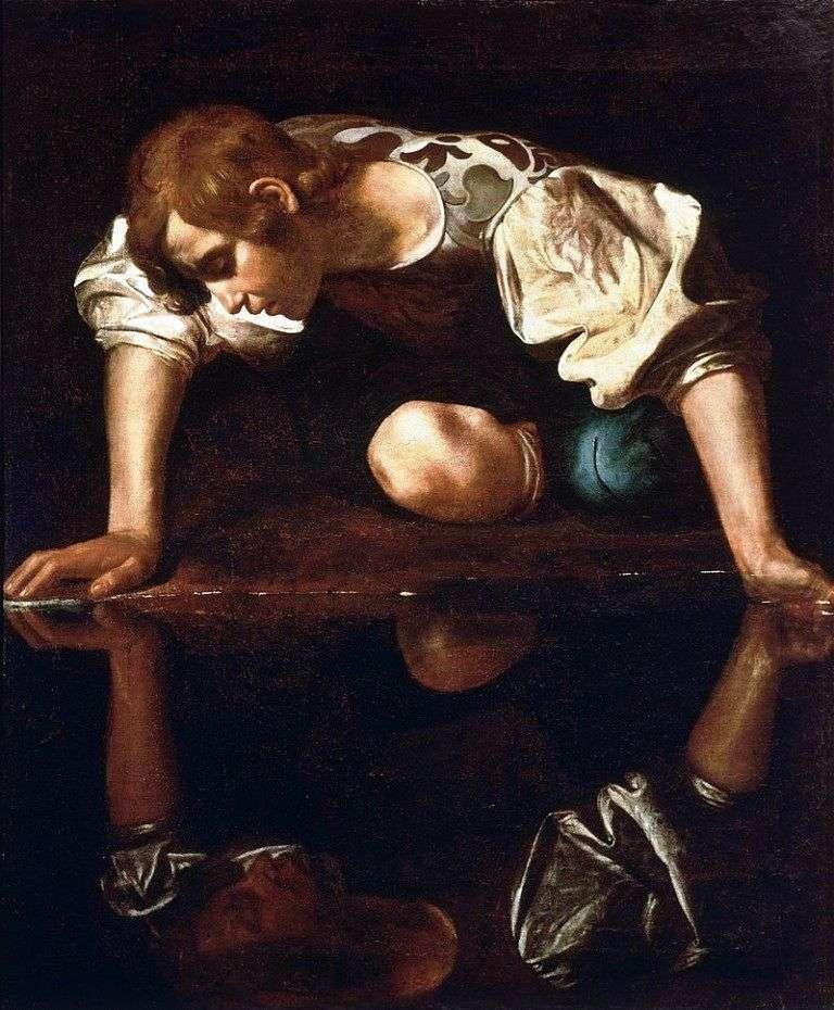 Narcyz przy Potoku   Michelangelo Merisi da Caravaggio
