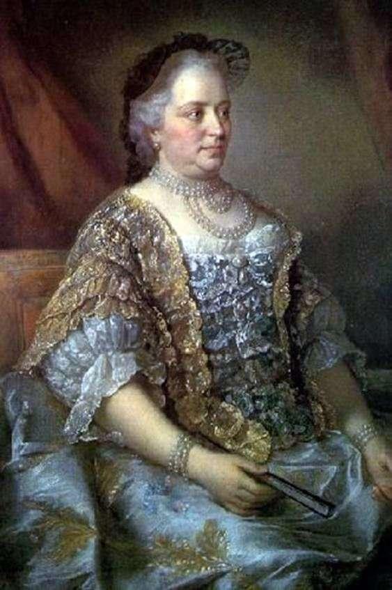 Portret austriackiej cesarzowej Marii Teresy   Jean Étienne Liotard