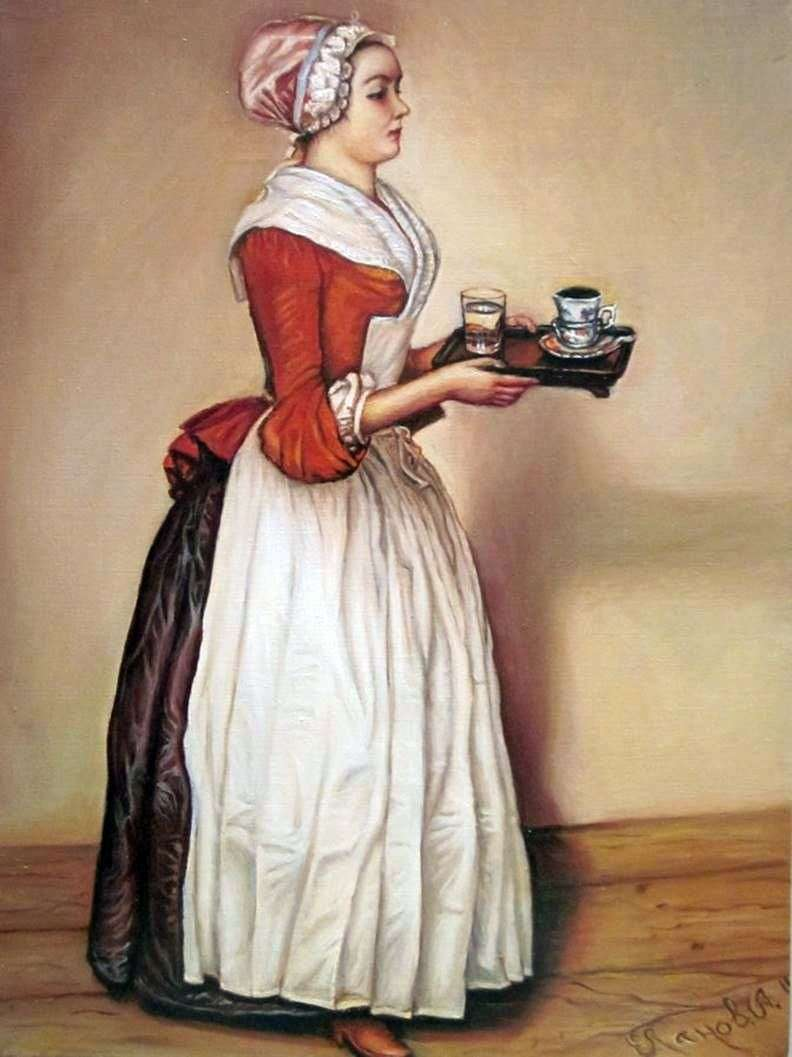 Chocolatnica   Jean Étienne Liotard